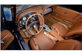 Saddle Interior 003 1963 Z06 Corvette Sting Ray Mecum Fl Saddle Interior