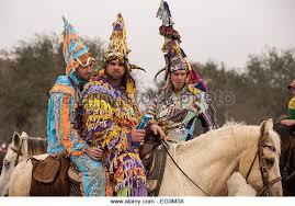 cajun mardi gras costumes costumed revelers on horseback during stock photos costumed