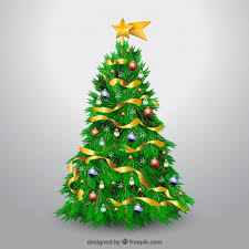 decorated christmas tree christmas tree vectors photos and psd files free