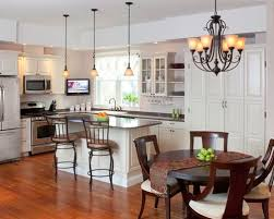 kitchen chandelier ideas kitchen dining room lighting ideas completure co