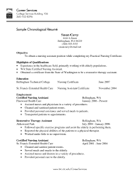 Resume Examples For Physical Therapist by Cna Resume Templates Health Symptoms And Cure Com