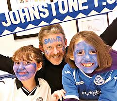 st johnstone u0027paint it blue u0027 video left stars with red faces but