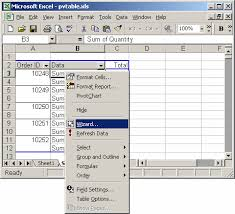 How To Make A Pivot Table In Excel 2010 How To Find Source Data For A Pivot Table In Excel 2007
