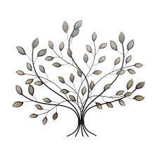 wall designs leaf wall wall hanging rustic bronze