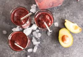 Stainless Stee Blueberry Kale Smoothie A Set Of Stainless Steel Straws For 1