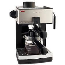Mr Coffee 4 Cup Steam Espresso Maker BlackSilver by fice Depot