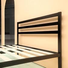 steel 1500h platform bed frame zinus