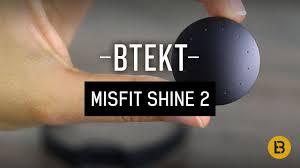 misfit shine 2 fitness tracker u0026 sleep monitor review youtube