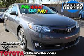 pre owned 2014 toyota camry se sedan in santa fe eu553036p