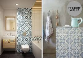 Feature Tiles Bathroom Ideas Patterned Tiles Interior Design Trend Design Lovers Blog