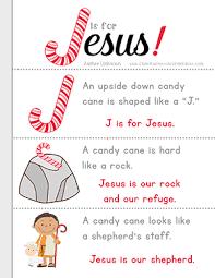 jesus candy cane printables