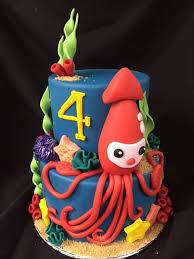 octonauts birthday cake custom