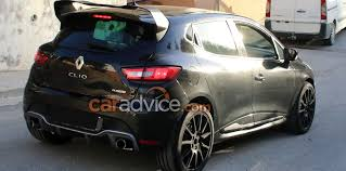 renault clio interior 2017 2017 renault clio rs 16 spied photos 1 of 8