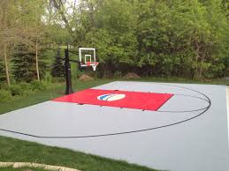 best backyard basketball court home design