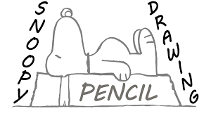 snoopy on his dog house how to draw snoopy step by step easy on his doghouse for beginners
