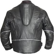 motorcycle racing jacket armor motorcycle leather racing jacket in black leather jackets usa