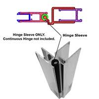 Shower Door Hinge Hinge Sleeve For Shower Doors With Continuous Hinges 66