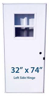 32x76 Exterior Door Mobile Home Slider Door 32x74 Lh Left Hinge Doors