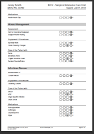 Sample Skills Resume by Sample Nursing Skills Checklist Bluepipes Blog