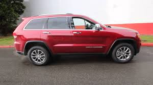 jeep laredo 2014 2014 jeep grand cherokee limited cherry red ec321958 seattle
