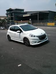 peugeot 208 gti white peugeot 208 owner club