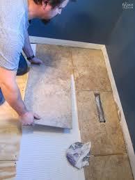 guest bathroom renovation part 2 tiling diy tiles ceramics