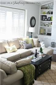 Living Room  Eclectic Style Long Narrow Living Room Interior - Decorating long narrow family room