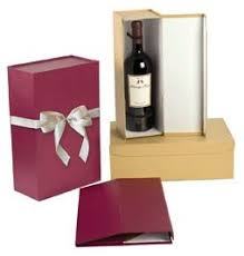 wine bottle gift box gift box with ribbon bow one bottle