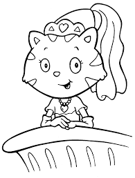 coloring download princess cat coloring pages princess cat