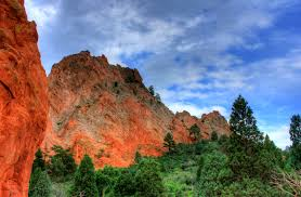 Garden Of The Gods Rock Formations High Rock Formations At Garden Of The Gods Colorado Image Free