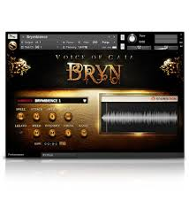 soundiron voice of gaia bryn solo male vocal library for kontakt