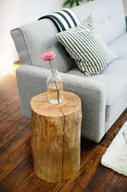 Tree Stump Side Table Magical Diy Tree Stump Table Ideas That Will Transform Your World