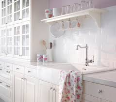 spanish tile backsplash kitchen traditional with none