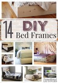 21 diy bed frame projects u2013 sleep in style and comfort bed