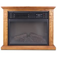large room electric quartz infrared fireplace heater deluxe mantel