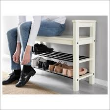 Black Entryway Bench Furniture Magnificent Black Shoe Rack Bench Long Entryway