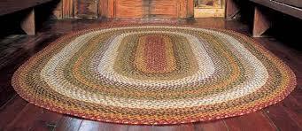 Braided Rug Home Spice Decor Braided Cotton U0026 Real Wool Rugs