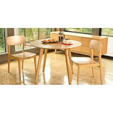 cb2 round dining table 42 round dining table madebytom co