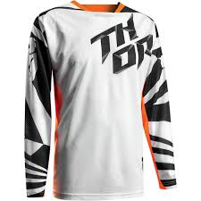 thor motocross gear nz thor 2017 fuse air dazz jersey and pants package white orange