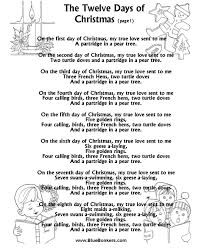 christmas song 12 days of christmas datastash co