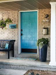 Plain Exterior Doors 5 Knockout Styling Ideas For Your Front Door Front Doors Doors