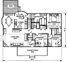 Spacious 3 Bedroom House Plans One Story Floor Plans 17 Best Images About Floor Plan On Pinterest