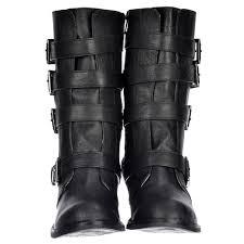 grey motorcycle boots rocket dog rollin four buckle biker boot porter grey black
