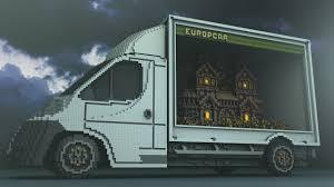minecraft truck some surreal minecraft art to end your night kotaku australia