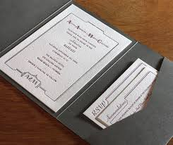 art deco wedding invitations for 2013 letterpress wedding
