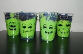 Halloween Cups Fun Halloween Treats Frankenstein Pudding Cups U2013 The Viewpoint