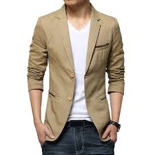 casual blazer plus size business casual slim fit solid color fashion blazers for