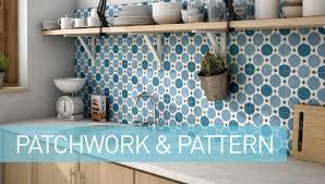 patterned tile bathroom and patterned tiles