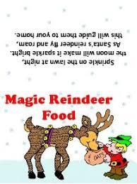 free printable reindeer activities reindeer food free printable tags winter themed school pinterest