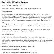 proposal template for funding request ny limo info